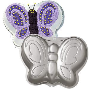 Cake Tin Hire - Butterfly Birthday Cake