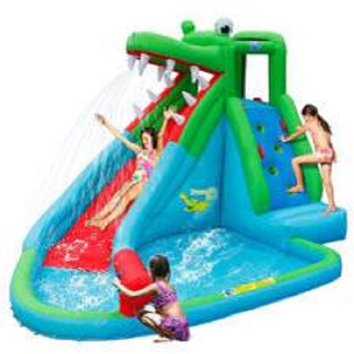 jumping castle hire crocodile attack water slide day hire