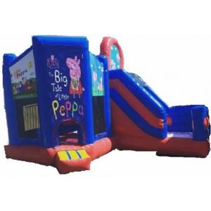 Jumping Castle Hire -   Peppa The Pig  Slide Day Hire