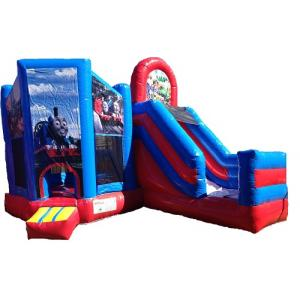 Jumping Castle Hire - Thomas The Tank  Slide  Day Hire