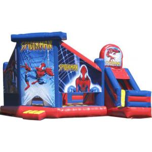 Jumping Castle Hire -  Spiderman Slide  Day Hire