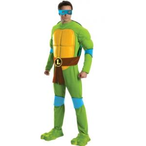 Costume Hire - Leonardo Ninja Turtle Overnight Costume Hire