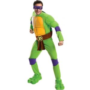 Costume Hire - Donatello Ninja Turtle Overnight Costume Hire