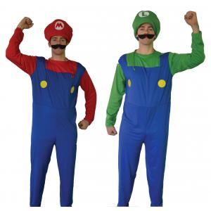 Costume Hire - Mario & Luigi Overnight Costume Hire