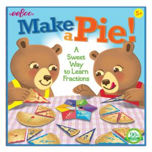 eeBoo - Make a Pie - Fractions Game
