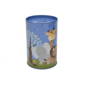 Bobble Art - Tin Money Box - Safari