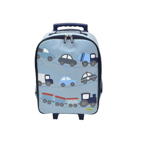 e31c4effcf1a Bobble Art - Wheely Travel Bag Suitcase - Cars