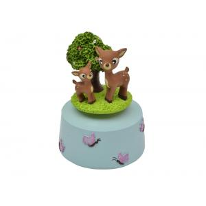 Bobble Art - Musical Carousel - Woodland Animals