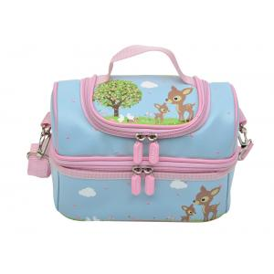Bobble Art - Large Lunch Box - Woodland