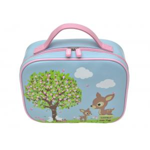 Bobble Art -  Insulated Lunch Bag - Woodland