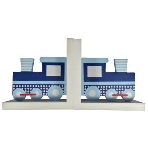 ES Kids - Train Wooden Bookends