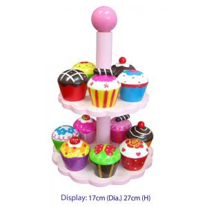 Fun Factory - Wooden Cup Cake Stand