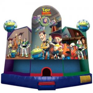 Jumping Castle Hire  - Toy Story Large Day Hire