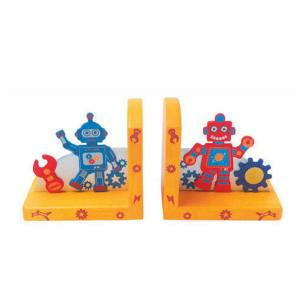 Kaper Kidz  -  Wooden Robot Bookend