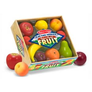 Melissa & Doug - Play Time Fruit 9 Pieces