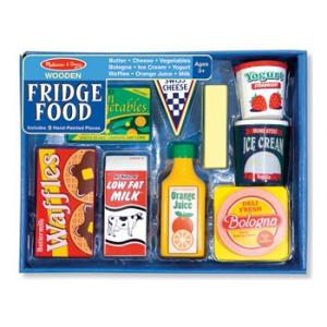 Melissa & Doug - Wooden Fridge Food  Set