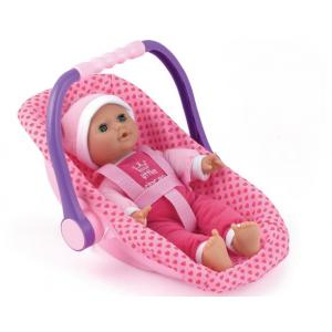 Dollsworld  - Isabella Baby Doll with Car Seat Carrier