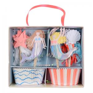 Meri Meri - Lets Be Mermaids Cupcake Kit