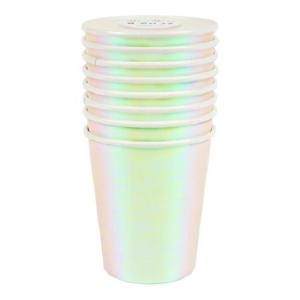 Meri Meri - Iridescent Party Cup Set (8)