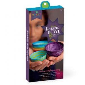 Craft -Tastic Mini Thread Bowls Craft Kit