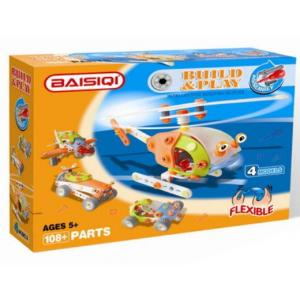 Baisiqi - Build & Play 4 Models Helicopter