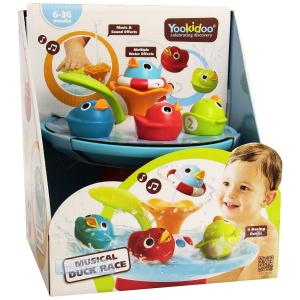 Yookidoo - Musical Duck Race Bath Toy
