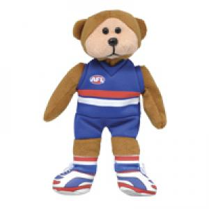 Beanie Kids - Deano The Western Bulldogs AFL Bear