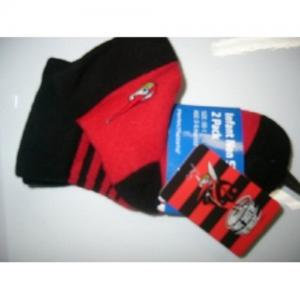 Official AFL - Essendon - Bombers Baby Socks Size 00-1