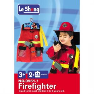 Le Sheng - Fire Man Dress Up Costume
