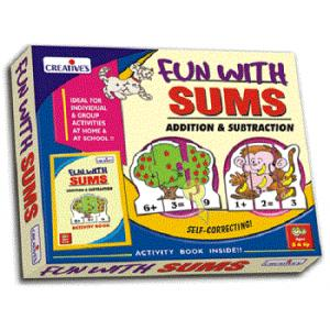 Creative's - Fun With Sums: Addition and Subtraction