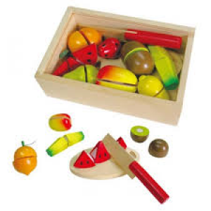 Fun Factory - 13pce Wooden Fruit Crate