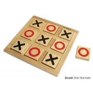 Fun Factory - Wooden Naughts & Crosses Game