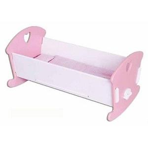 Fun Factory - Pink and White Doll's Cradle