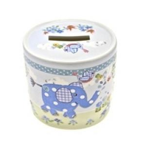 Cavania - Little Bird & Ellie Money Box Blue