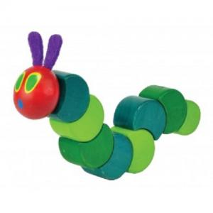 Jasnor - Very Hungry Caterpillar Grasp and Twist Wooden Toy