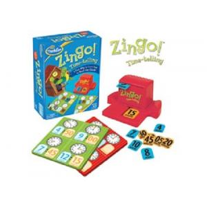 ThinkFun - Zingo Time Telling Bingo Game