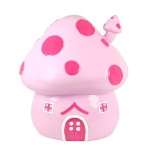 Mushroom Cottage Money Box