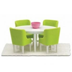 Lundby Smaland Dollhouse  - Dining Set