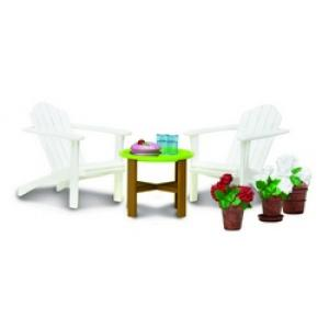 Lundby Smaland Dollhosue - Garden Furniture 2011