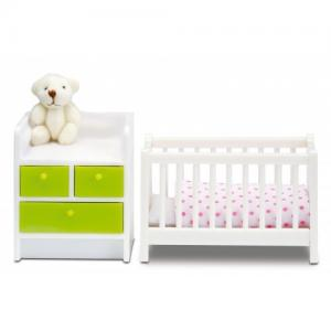 Lundby Smaland Dollhosue - Nursery Set