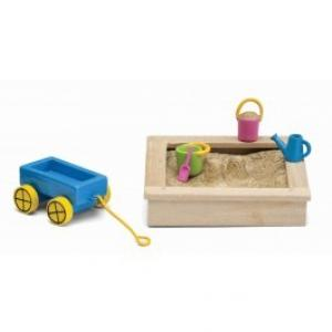 Lundby Smaland Dollhouse  - Sandbox Set